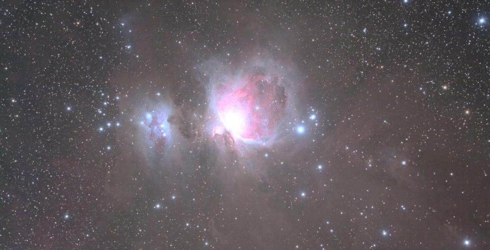 オリオン座星雲(冬)